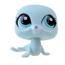 Rare Hasbro Littlest Pet Shop LPS Blue Dolphin Gift Toy Animals