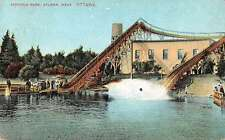 Aylmer Ontario Canada water slides Victoria Park antique pc Z28675