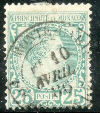 STAMP / TIMBRE DE MONACO OBLITERE N° 5 COTE 90 €