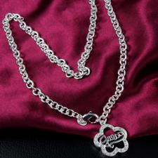 Silberkette Kette Halskette Silberschmuck guess S925 Geburtstagsgeschenk Blume
