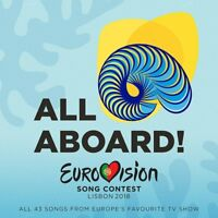 EUROVISION SONG CONTEST LISBON 2018 - ALL ABOARD!  2 CD NEW!