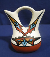 Ute Grayfeather Art Pottery Vase Signed on bottom