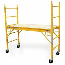 6 Foot Multi Purpose Rolling Scaffolding 1000-Lb Capacity