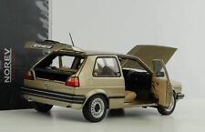 VW Golf CL Volkswagen 2 II 1990 beige metallic 1:18 Norev 188519