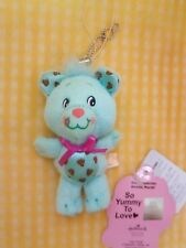 Kawaii Yum Yums Chuckle Chip Bear Small Plush with Ball Chain & Strap Japan