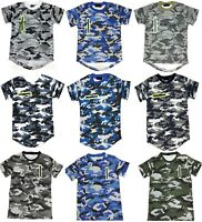 Boys Camouflage Army T Shirts Camo Short Sleeved Kids Tops Casual Cotton T Shirt