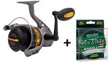 Fin-Nor Lethal 80 Surf Fishing Reel Bonus Free 300yds 50lb Braid New
