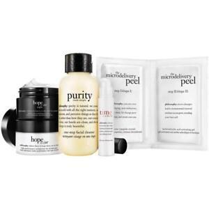 NIB Philosophy Cleanse, Peel, and Treat Set Works Wonders All Skin Types!
