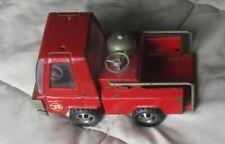 Vintage Buddy L Pressed Steel Red Fire Truck