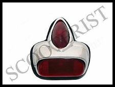 Vintage Vespa Rear Brake Tail Light Red VN VM VL Vbb Vsc Super Sprint 150 125