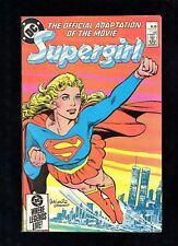 Supergirl Official Adaptation of the Movie #1 DC Comics 1985 See Images A5