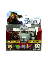 Marvel Minimates Darcy Lewis & Dark Elf Series 53 Thor The Dark World Movie New