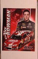 2014 ALEX BOWMAN DR.PEPPER  #23 NASCAR RACING  POSTCARD