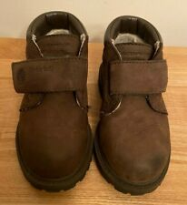 Baby Boys Timberland Brown Boots Size UK 7 waterproof