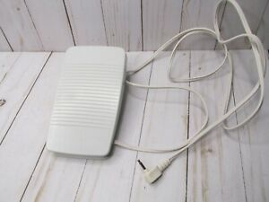 D2 Genuine Brother Model T FC-322 Sewing Machine Foot Control Pedal Gray