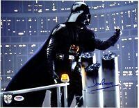 DAVE PROWSE Signed Darth Vader STAR WARS 11x14 Official Pix Photo PSA/DNA V50142