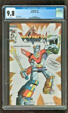 CGC 9.8 NM/MT VOLTRON #1 MODERN PUBISHING 1985 HENRY VOGEL STORY LIVE MOVIE SOON