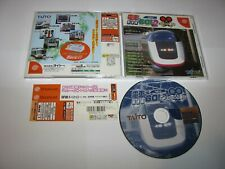 Densha de Go 2 Kousoku-hen Sega Dreamcast Japan import + spine card US Seller