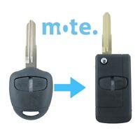 Mitsubishi Challenger Pajero Triton Evo Remote Key Blank Shell/Case MIT8 Flip