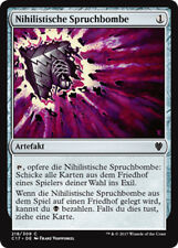 2x nihiliste sort bombe (Nihil Spellbomb) Commander 2017 Magic