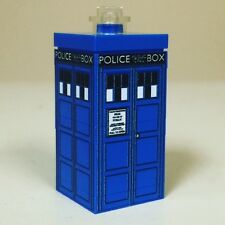 Lego Custom Printed MINI TARDIS Police Box Time Machine Dr Doctor Who Miniature