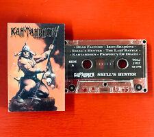KAHTAHDHEN on TOAJ —SKULLS HUNTER — mexican death metal cassette tape
