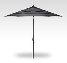 Umbrella Treasure Garden 11 Foot Auto Tilt Market with Alum Anthracite Frame