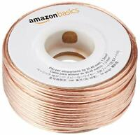100ft 16-Gauge Audio Stereo Speaker Wire Cable - 100 Feet, Home, Car