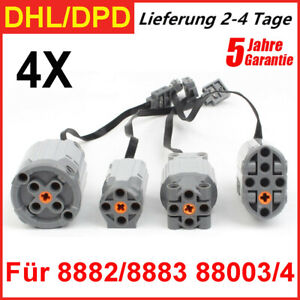 4pcs Motor Für LEGO 8882/8883 88003/4 Motoren Motor Lego Technik X/XL/M/Steering