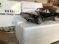 Franklin Danbury Mint 1:24 Bullitt Dodge Charger Assasins Chase Car MiB