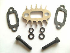 BAJA EXHAUST SPACER / HEATSINK + GASKETS +BOLTS , COMPATIBLE WITH ROVAN,HPI