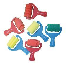 Major Brushes Art & Craft Rodillos De Espuma Conjunto de 6 formas Variadas Y Modelos