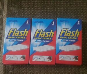 3 X Flash Magic Eraser Extra Power Fast 1st  class  post 📫 ☆☆☆☆☆☆☆☆