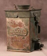 """Vintage c.1910 """"KLIMAX"""" Developing Tank W Butcher & Sons Ltd, London"""