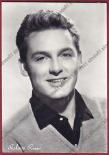 ROBERTO RISSO 03b ATTORE ACTOR ACTEUR CINEMA MOVIE Cartolina FOT. viaggiata 1956