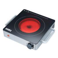 Amko Single Burner Infrared Range, 1500 Watts