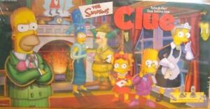 The Simpsons Edition Clue Board Game Replacement Parts & Pieces 2000 Hasbro