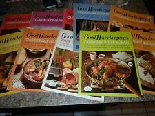 Vintage 1967 GOOD HOUSEKEEPING Cookbooks lot of 10 from Good Cooking
