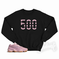 "New ""500"" Crewneck Sweatshirt for Yeezy 500 Soft Vision T Shirt"