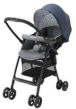 Aprica Karoon Plus High Sheet Stroller Check Star Navy NV 2022372 Fast Shipping