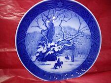 Royal Copenhagen 1967 Christmas Collector's Plate, Denmark