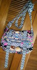 HARAJUKU LOVERS Gwen Stefani MESSENGER Shoulder Bag Crossbody  I LOVE 2 SKATE