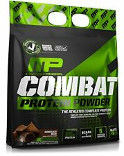 MusclePharm Combat Powder Advanced Time Release Protein Chocolate Milk 10 Pound