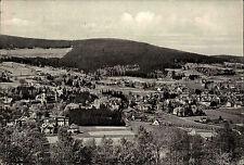 BAD FLINSBERG alte s/w AK Polen Schlesien gelaufene PK Vintage Postcard