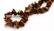 Tigers Eye Gemstone Chip Beads 36 Inch Strand