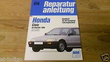 Reparaturanleitung Honda Civic 1.2-/1.3-/1.5-Liter  auch CRX ab 1984@NEUWERTIG@