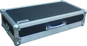 Tiered 2 Level Guitar Pedal Board Swan Flight Case (Hex)