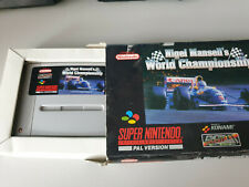 Nigel Mansell World Championsship-  Super Nintendo- mit Verpackung