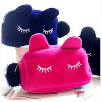 Cat Organizer Bag Make-up Zipper Style Cosmetic Bag Bags Makeup Bag Handbag 1pcs