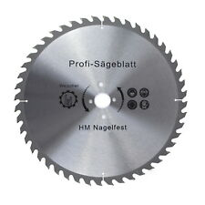HM Kreissägeblatt 300-600 mm Durchmesser Sägeblatt NAGELFEST 24-60 Zähne